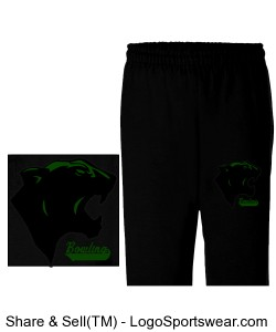 Gildan Adult Heavy Blend Open-Bottom Sweatpant Design Zoom